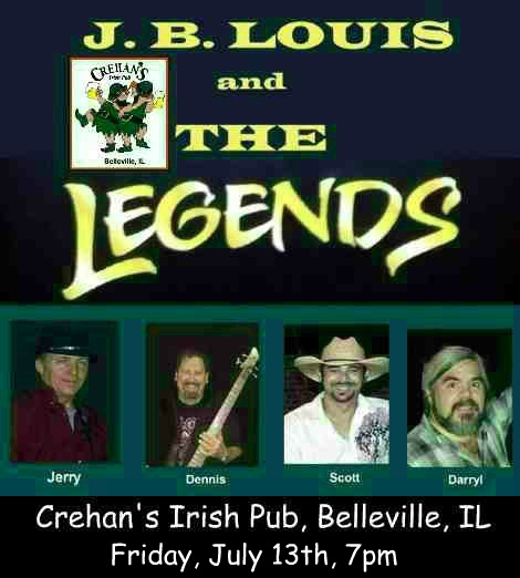 J.B. Louis and The Legends 7-13-18