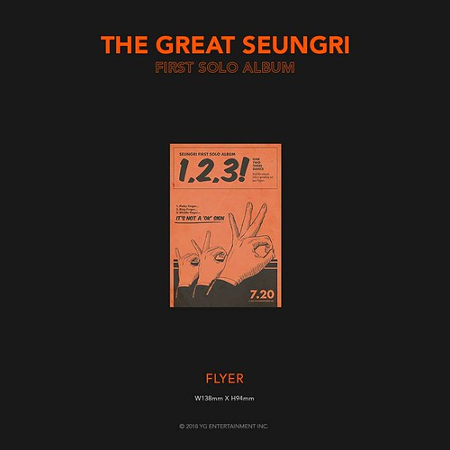 Seungri THE GREAT SEUNGRI Solo Album 2018 (12)