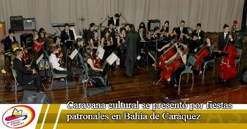 Caravana cultural se presentó por fiestas patronales en Bahía de Caráquez