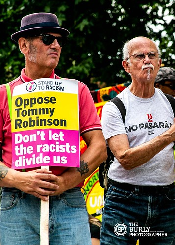 Union Anti Racism Demo July 18