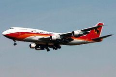 TAAG Angolan Airlines | Boeing 747-300M | D2-TEB | Johannesburg Intern