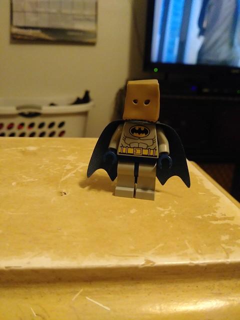 Bag man batman