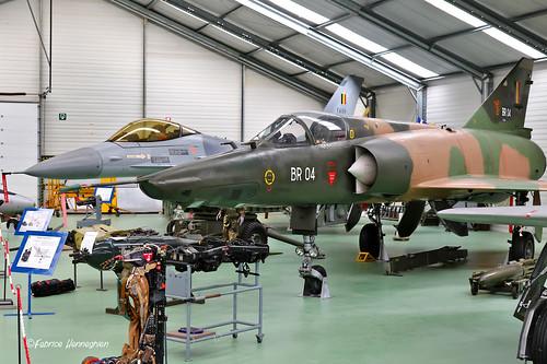 BR04 Dassault Mirage 5BR Belgian Air Force