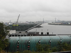 AIDAblu Westeuropa 2012 - 4.Tag, Hamburg, Abfahrt