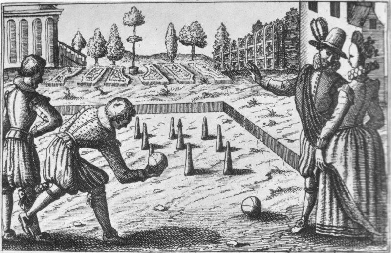 Bowling 16 century