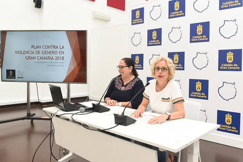 Presentación de 25 proyectos ejecutados por el Cabildo de Gran Canaria para la prevención de la violencia machista