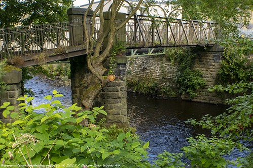 Bridge over the River Calder at Tenterfields