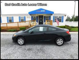 Bad Credit Auto Wilson NC