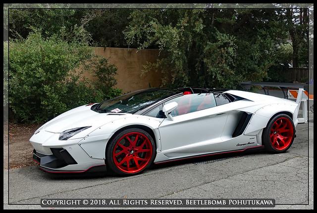 2017: Car Spotting, Pebble Beach