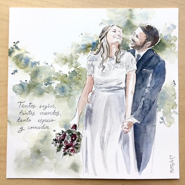 bodas-dibujadas-mdmrobert-retrato-boda-pareja-couple-wedding-exclusivos.regalo-hecho-a-mano