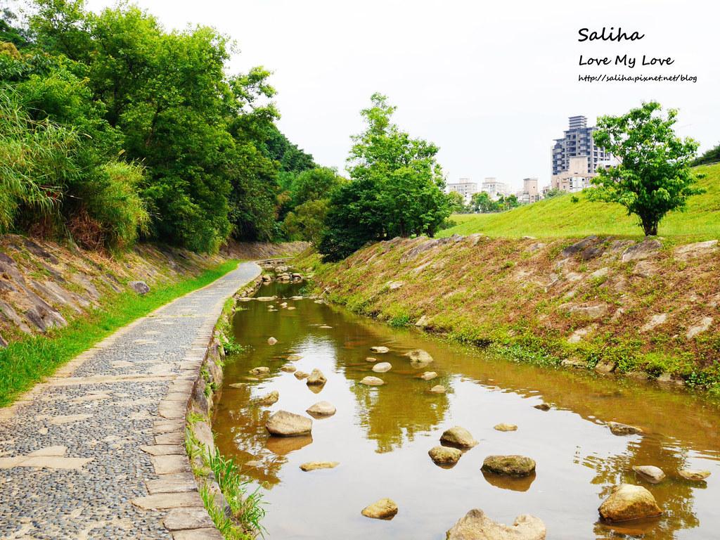 台北內湖一日遊親子玩水景點大溝溪親水公園 (4)