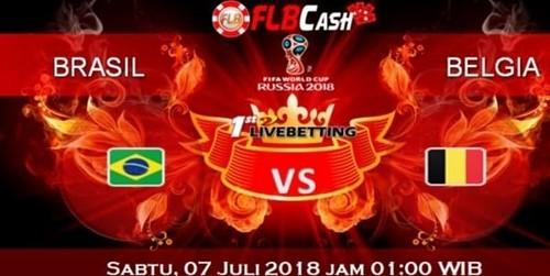 Prediksi Bola Piala Dunia – Brasil vs Belgia, hari Sabtu, 7 Juli 2018