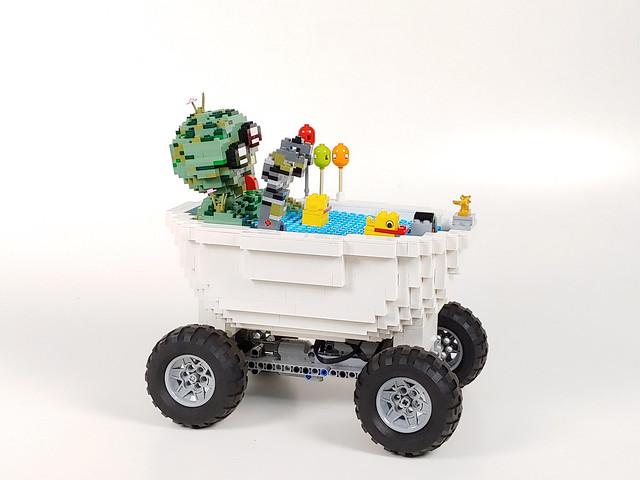 Lego Zombie Car