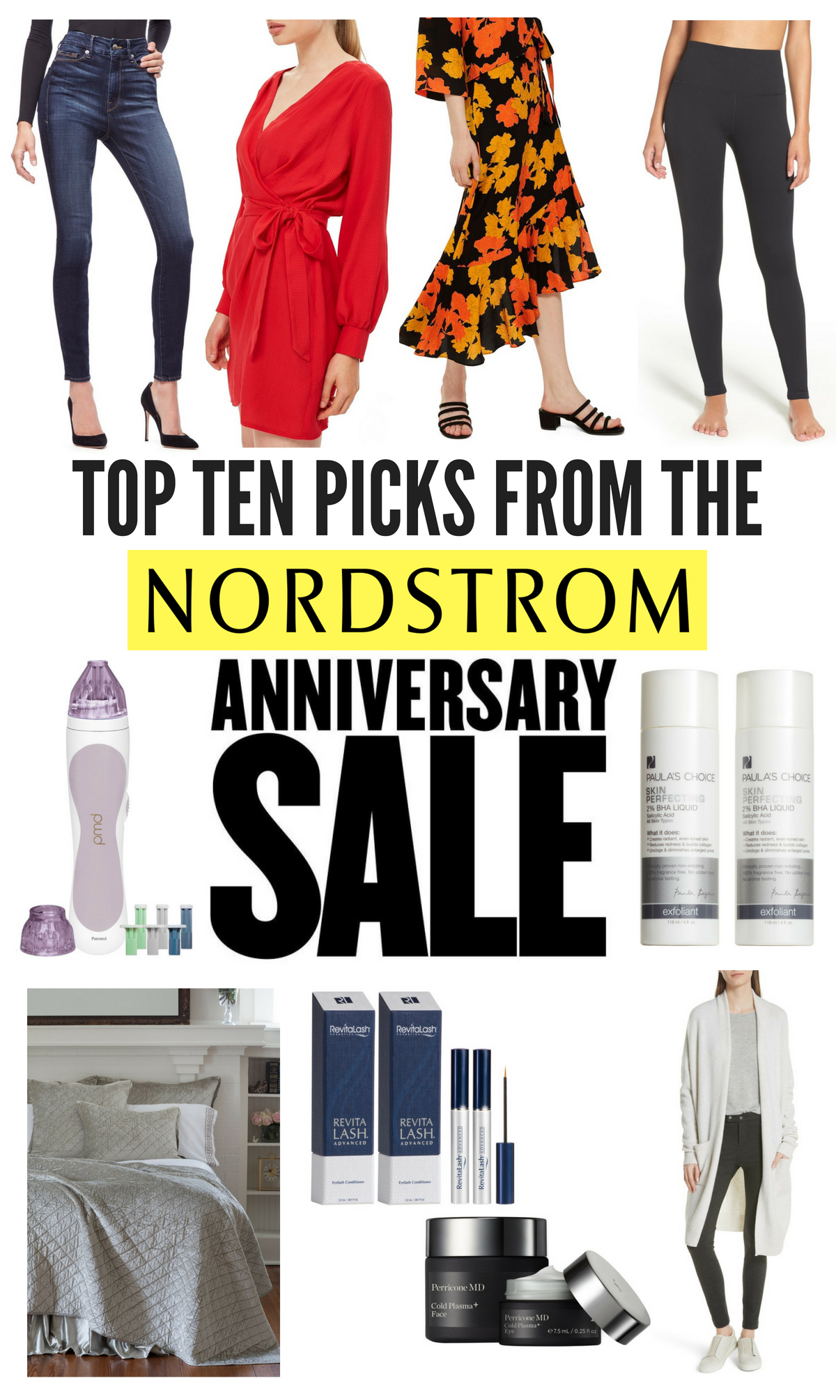 My Top Ten Picks from the Nordstrom Anniversary Sale + a $400 Giveaway