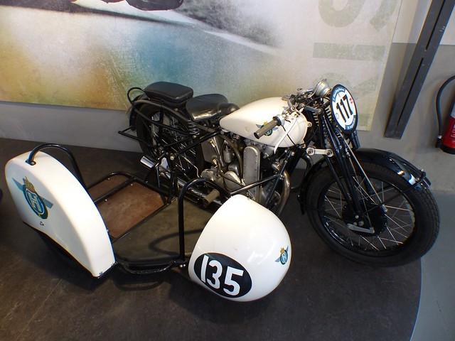 Horex S8 Gespann 1935 white Braun Badsching vro
