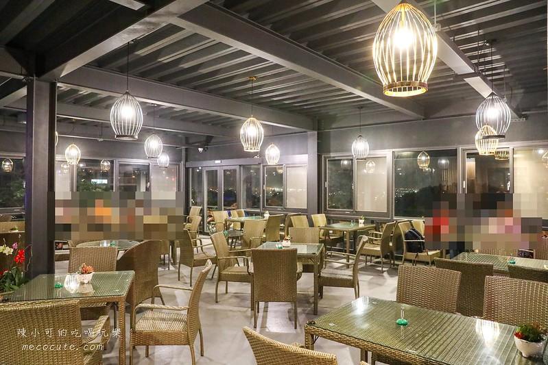 桃園夜景餐廳:古山星辰景觀咖啡廳~桃園爆紅約會咖啡館!