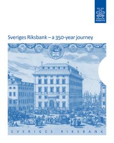 Sveriges Riksbank book cover