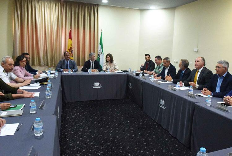 LA LINES REUNION CON EL MINISTRO DE INTERIOR FERNANDO GRANDE MARLASKA1