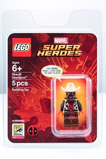 這個警長應該先把自己抓起來!!LEGO Marvel Super Heroes 系列【警長死侍】Sheriff Deadpool【2018 SDCC 限定】