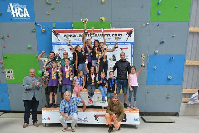 Petzen climbing trophy 2018