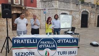 Sandro Laera comizio luglio 2018