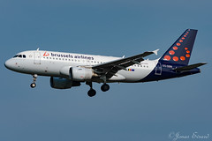 Brussels Airlines / A319 / OO-SSN