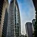 Modern Office Building in Tokyo Japan
