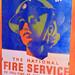 National Fire Service Women Recruitment Poster
