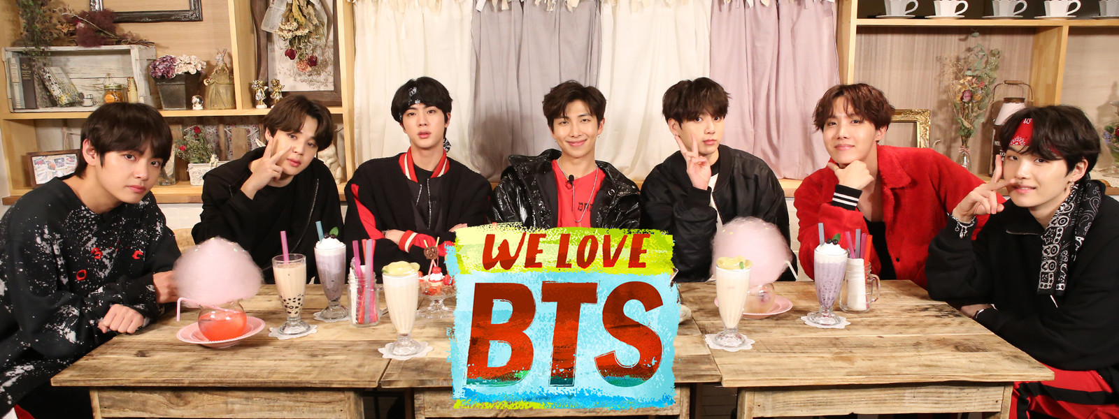 Video] (We Love BTS ) 'Sweets Party in Harajuku' [180705] |