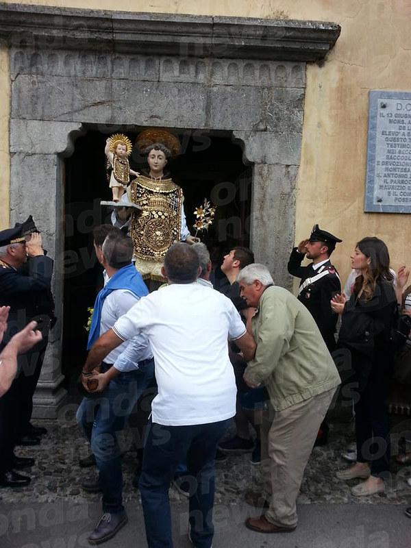 Sant antonio esce dai Cappuccini