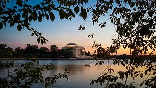 Dusk at the Jefferson Memorial  -- THROWBACK THURSDAY 6.27.18