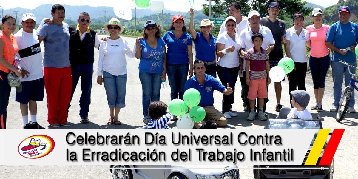 Celebrarán Día Universal Contra la Erradicación del Trabajo Infantil