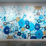 In Sight On Site: Murals - Heather Patterson - Photograph by Wes Magyar
