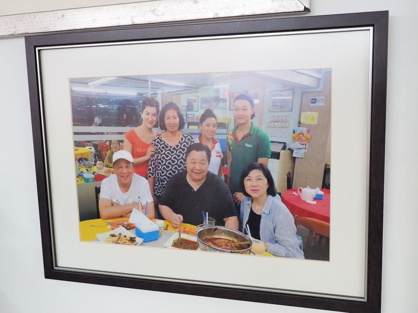 Some Hong Kong artists who has visited Pangkor Village Seafood, Taman Megah