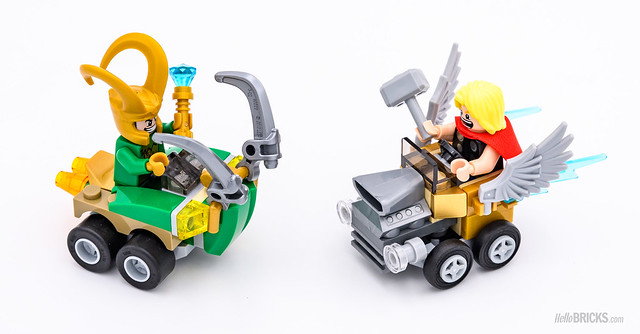REVIEW LEGO 76091 Marvel Mighty Micros : Thor vs Loki