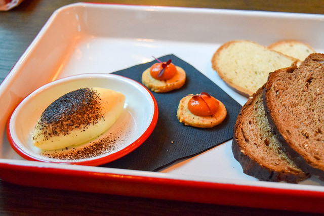 Bread and Canapes at The Parade Room at The Pound, Canterbury #bread #canterbury