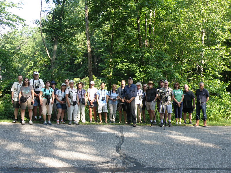 RRNC July 2018 Birders by Penny O'Connor