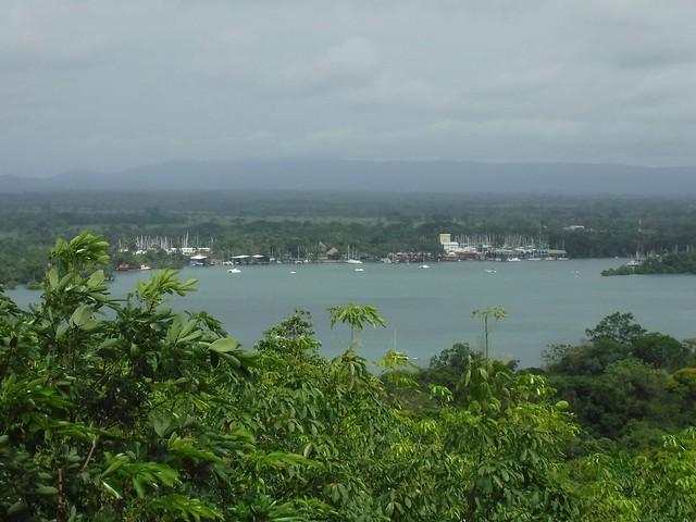 View of Rio Dulce Guatemala