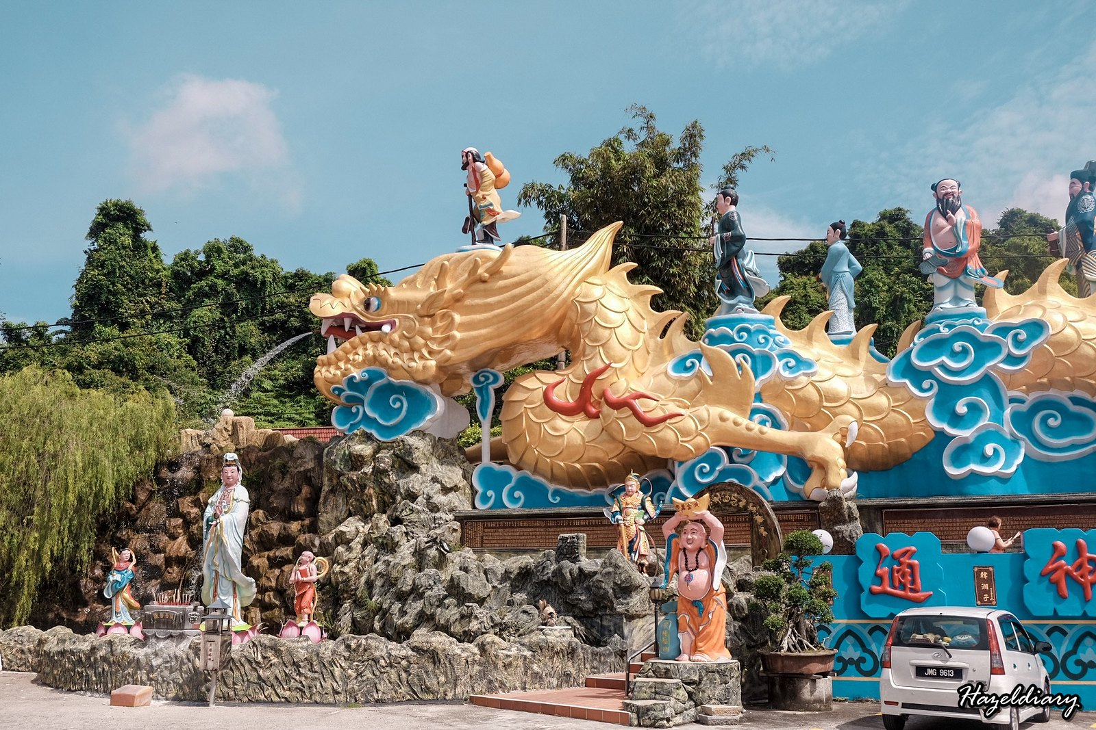 Batu pahat Temple Cheng Tian Keong Temple