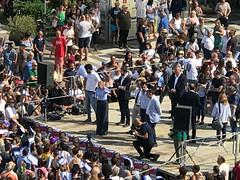 Comizio finale a Massa per Francesco Persiani sindaco