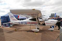 G-RFCB Tecnam P2008-JC Royal Air Force Charitable Trust RAF Fairford R