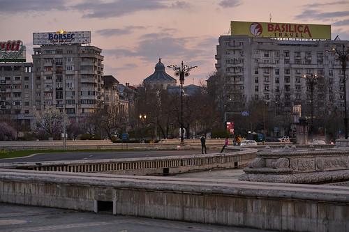 Piața Unirii - Bukaret, Romania