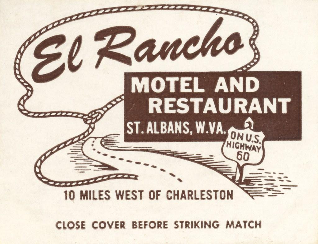El Rancho Motel and Restaurant - St. Albans, West Virginia