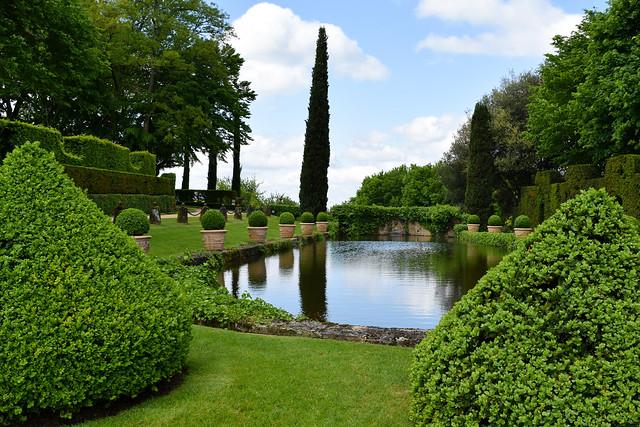 Carp Lake at the Jardins de Eyrugnac #gardens #eyrugnac #dordogne #france #travel