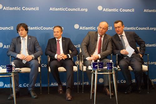 29.06.2018 Președintele Andrian Candu la dezbaterea publică organizată de Atlantic Council