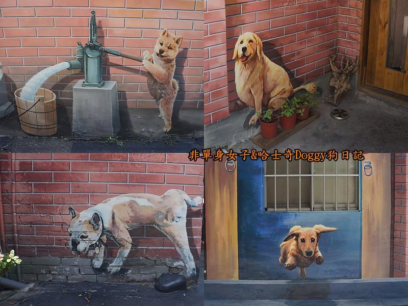 彰化一日遊09忠犬3D彩繪