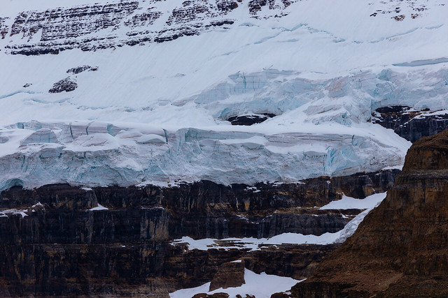 Edge of the Upper Victoria Glacier