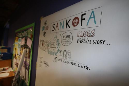 sankofa student visit