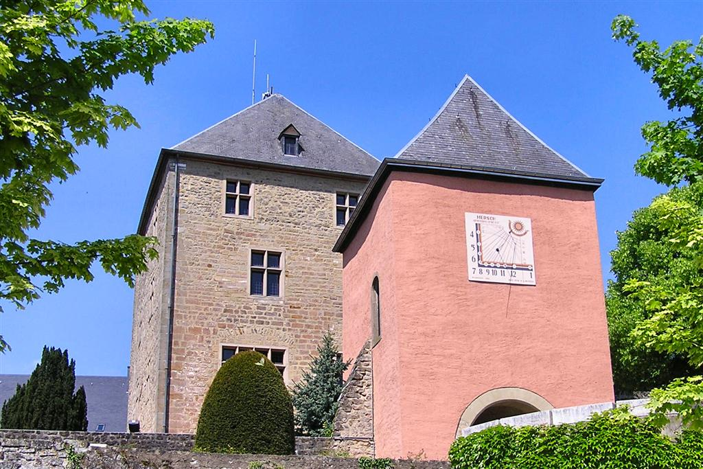 Mersch Castle, Luxembourg. Photo taken on May 6, 2007.