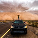 Eli and the Haboob by Mike Olbinski Photography